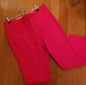 Banana Republic red crop pants